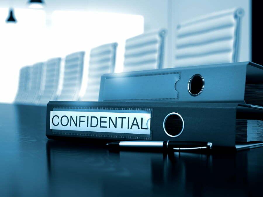 confidential business