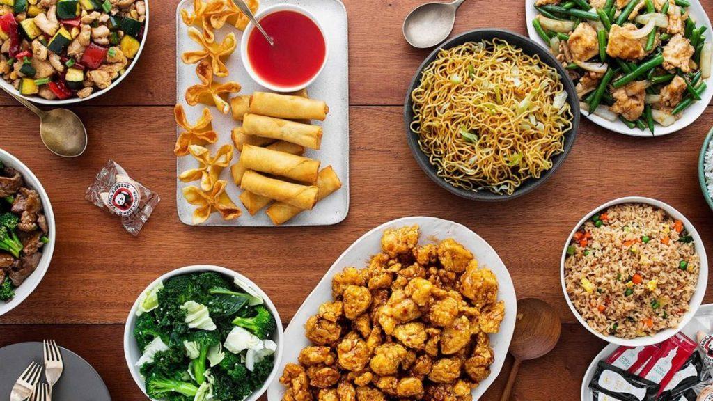 Image of Panda Express food items